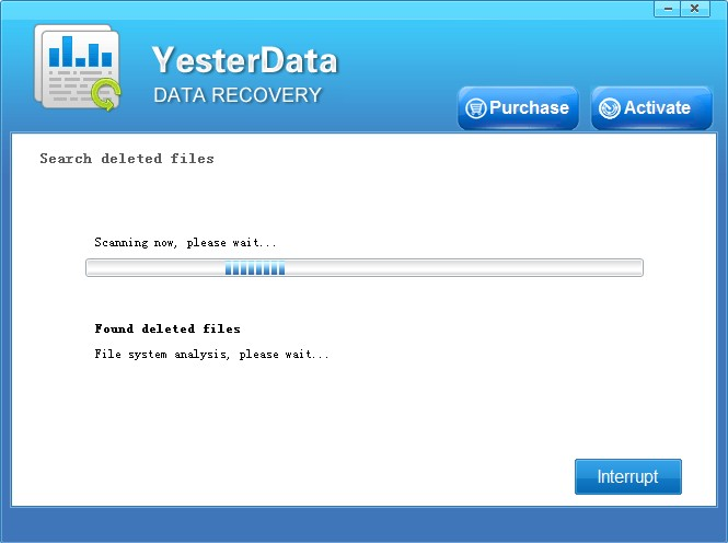 Yesterdata Data Recovery Software