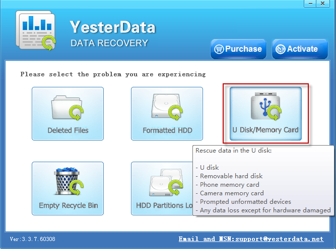 Data Recovery from Kingston Datatraveler